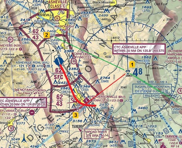 19670719.. Piedmont22 midair, presented over 2015 version of VFRmap