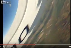 20120709scp.. frame showing C208 wing at impact during skydiving accident (time 0113 of 0230 video)