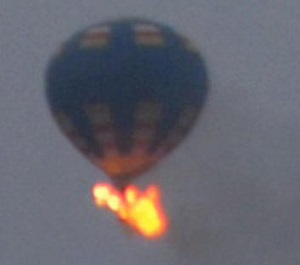 20140509.. Commercial balloon fire, Richmond, VA