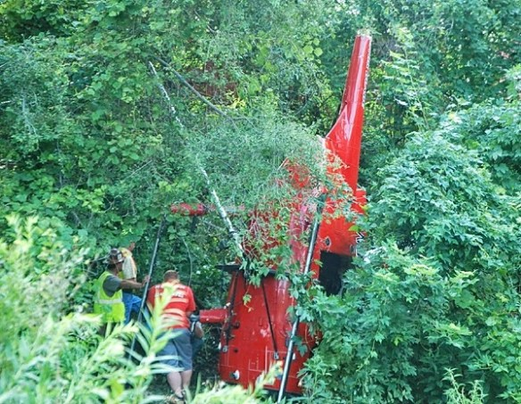 20140729.. Logan County OH MD500 helo crash pic