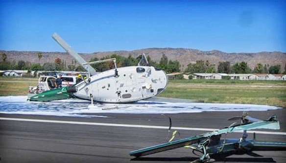20140828.. Helo crash pic Hemet, CA