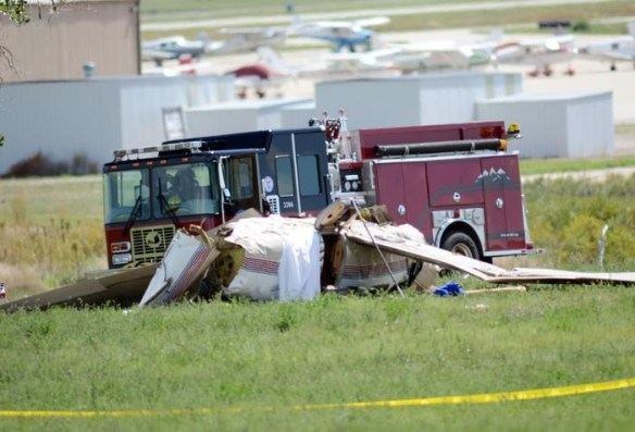 20140831.. PA46 crash pic, Erie, CO