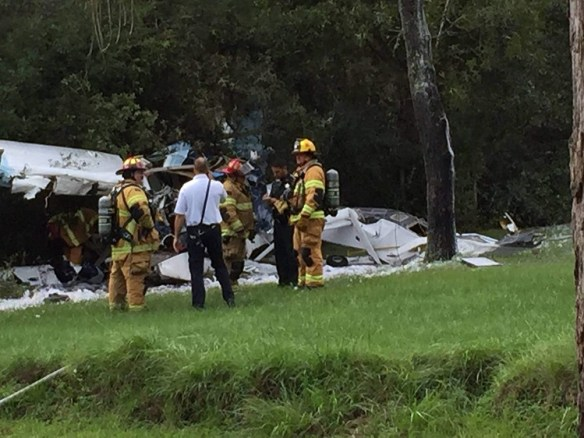 20150918.. C206 seaplane crash Spring Hill, FL