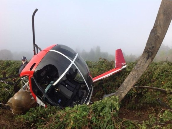 20150919.. Forest Grove ag copter crash pic