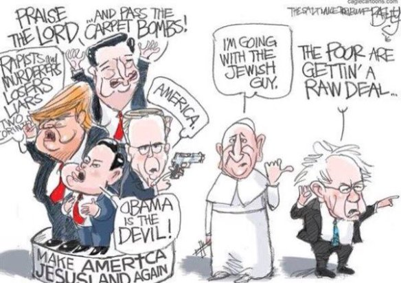 20160411.. 'I'm Going With the Jewish Guy' (Bernie tweet-pic)