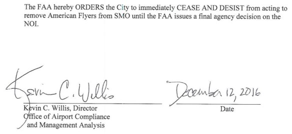 (click on image to view an archived copy of FAA's entire 15-page 'Cease & Desist Order' package)