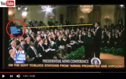 20171012scp.. Pres.B.Obama teleconference and front teleprompter (f TeleprompterHell Youtube video, time 0107)