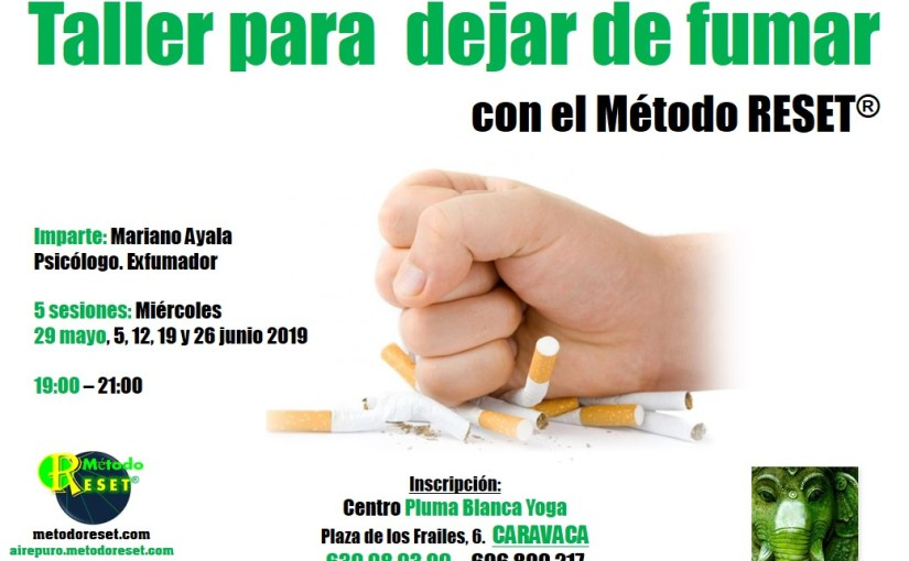 Caravaca: Taller para dejar de fumar