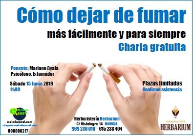 Murcia: Charla Gratuita Dejar de Fumar