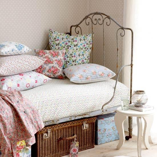 Dormitorios juveniles de estilo vintage  AIRES RENOVADOS