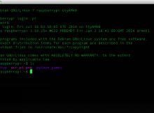 Instalei o Raspian, Qual é a senha do usuário pi ?