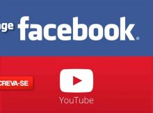 Curta nossa FanPage no Facebook e o nosso canal no YouTube