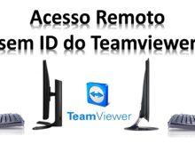 Como utilizar o teamviewer sem usar o ID em redes locais?
