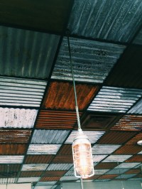 Corrugated Metal Ceiling Tiles  Blog Avie