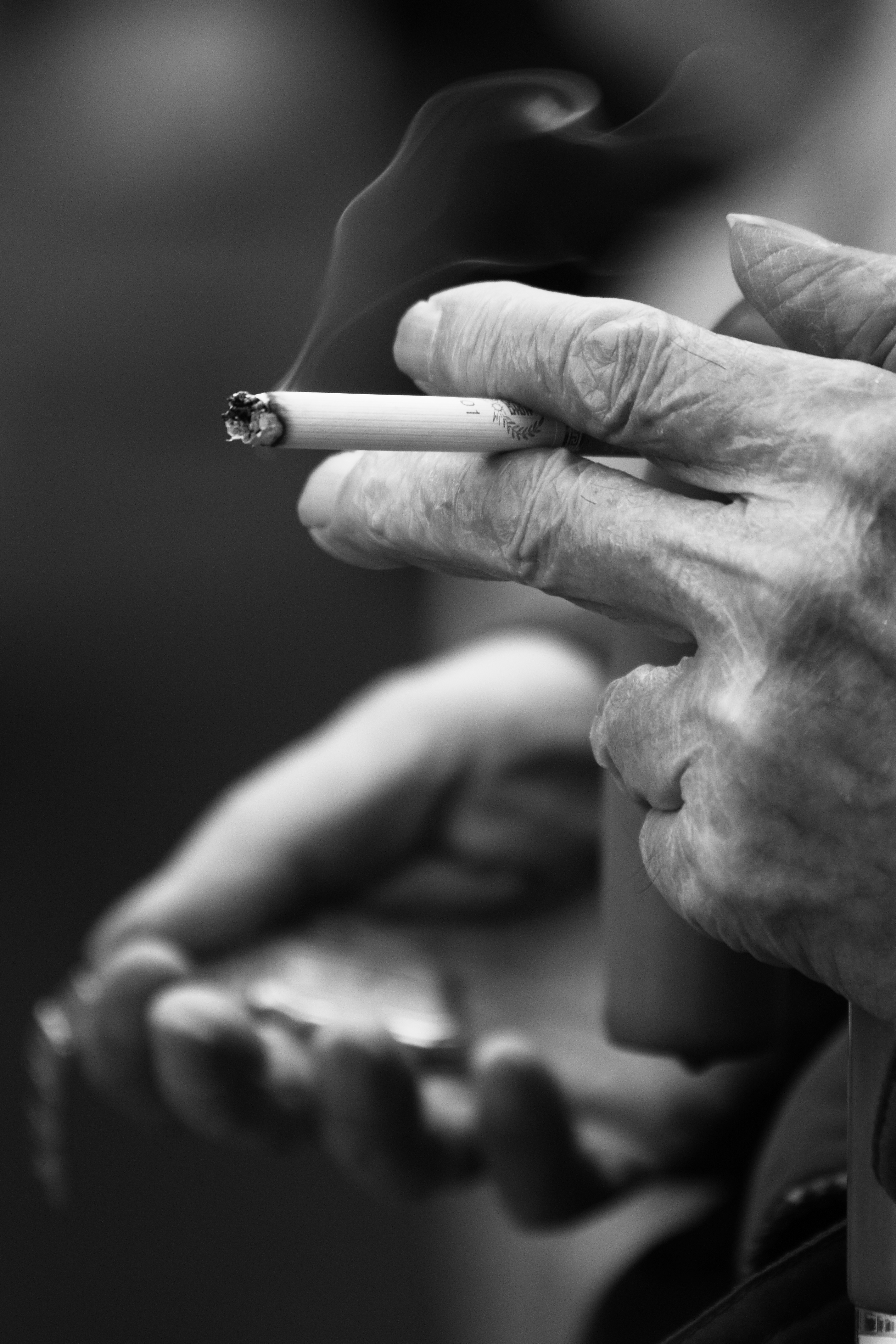 watch and cigarette