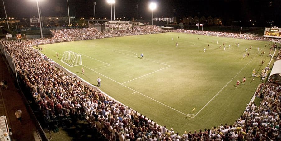 Texas A Amp M Women S Soccer Field Built With The Airfield