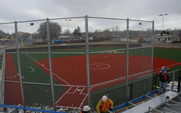 Bloomfield Hs Synthetic Turf Softball Field Wins National