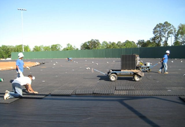 synthetic turf, artificial grass, sports drainage