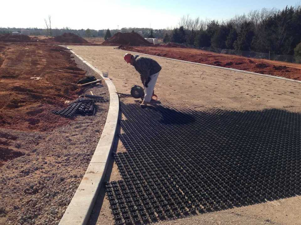 Porous Flexible Paving With Airpave