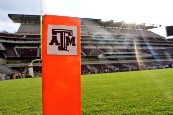 Kyle Field Natural Turf Sports Field Drainage With Airdrain