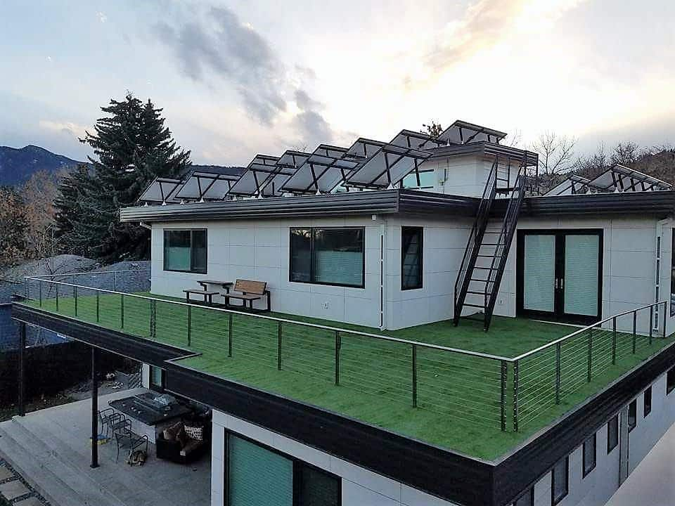 Airdrain Green Roof Drainage Artificial Grass And Natural