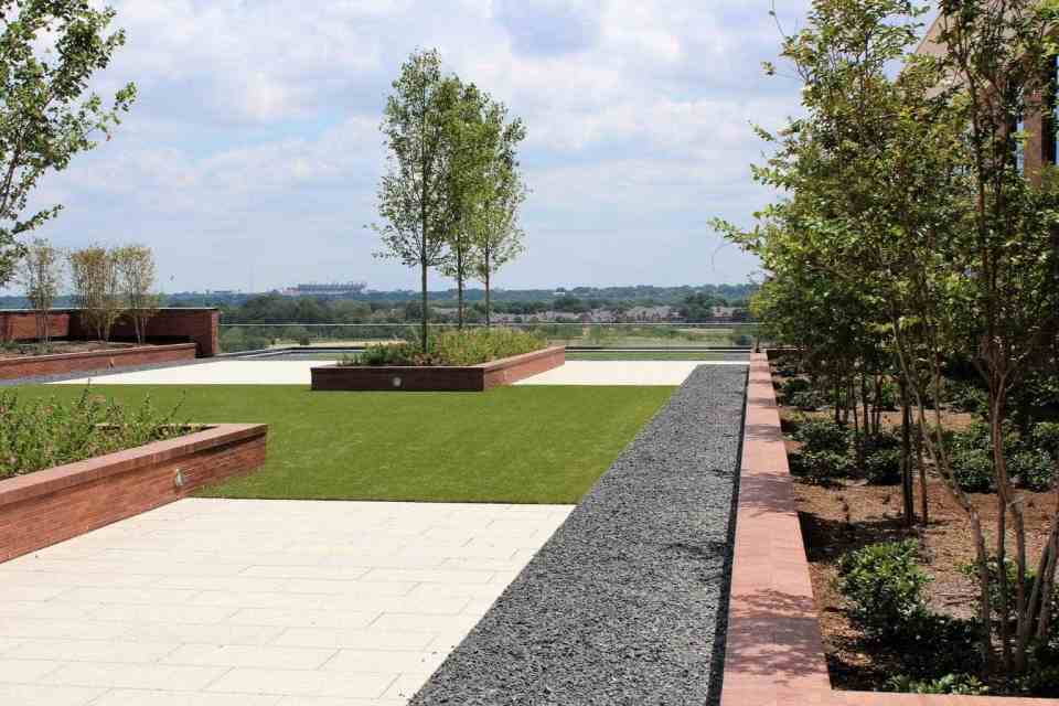 Shock attenuation, Artificial grass, synthetic grass, fake grass, green roof, green roofs