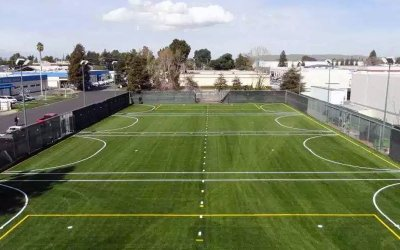 artificial turf, synthetic grass, airdrain, drainage