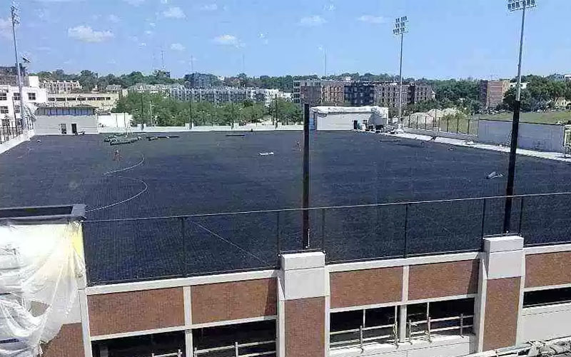 airdrain, drainage, synthetic grass, rooftop, sportsfield