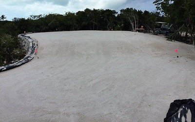 bunker drainage, sand trap drainage, golf drainage, airdrain