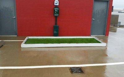 airdrain, drainage, pet relief area, k9grass