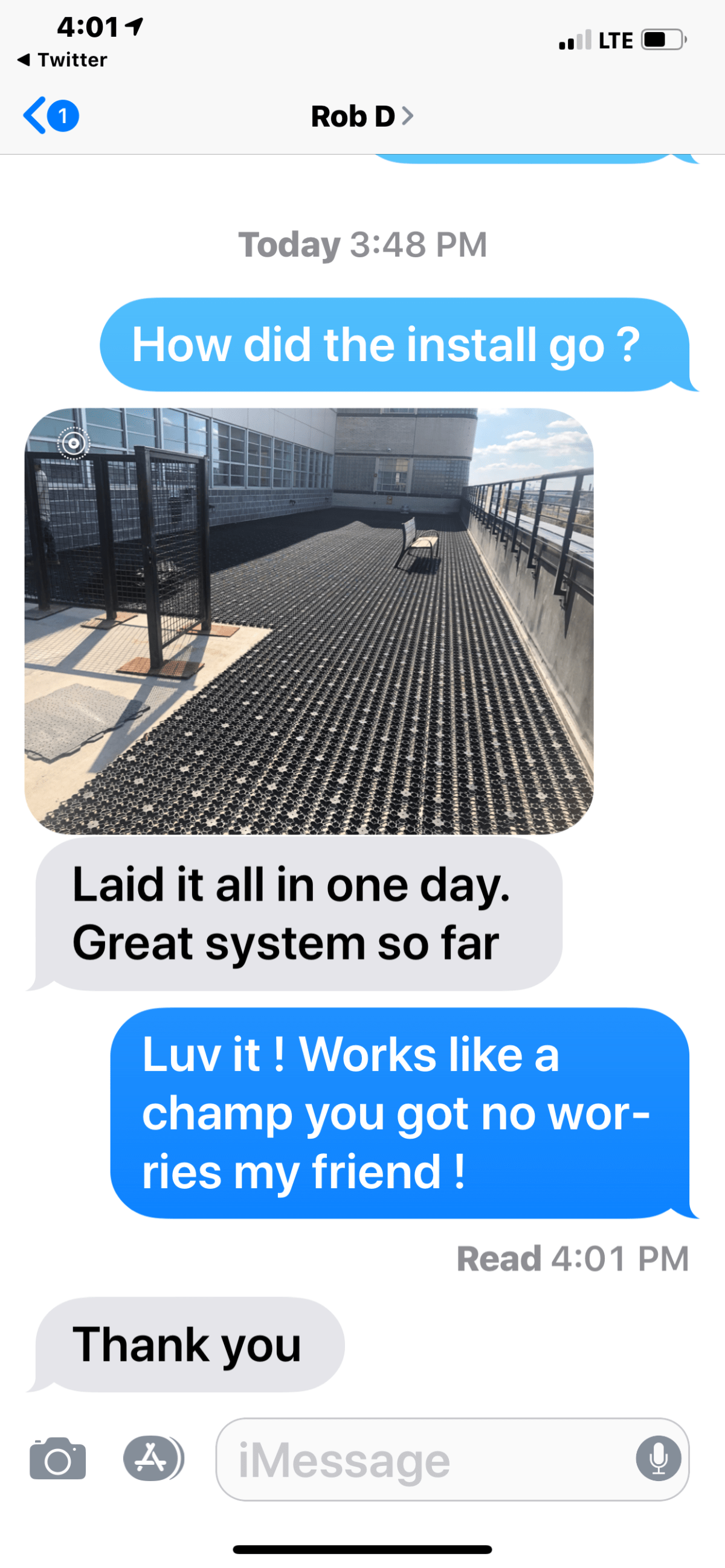 AirDrain Synthetic Grass Rooftop Drainage and Shockpad