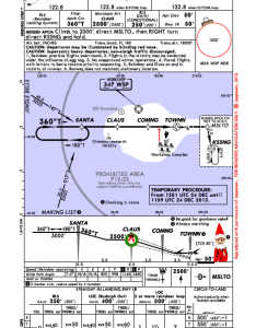 Approach into the north pole village by jeppesen below screen shot at pm also merry christmas from air flight training rwy rh airflighttraining