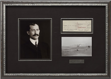 Orville Wright Signed Bank Check, Circa 1922 Image
