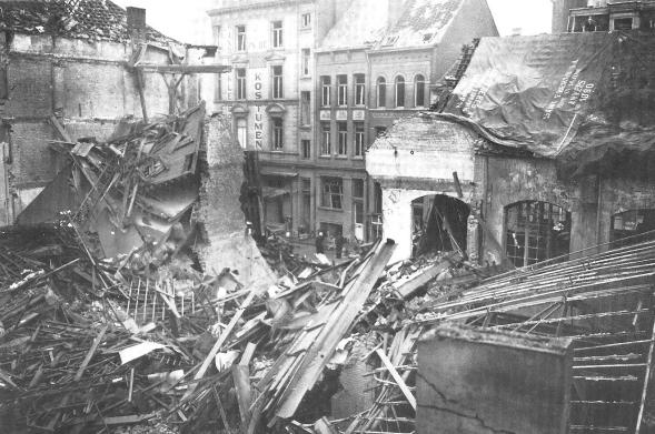 14-V-1 damage in Antwerp