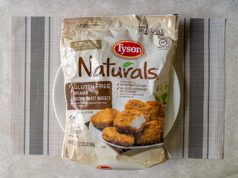 How to make Tyson Naturals Breaded Chicken Breast Nuggets in an air fryer