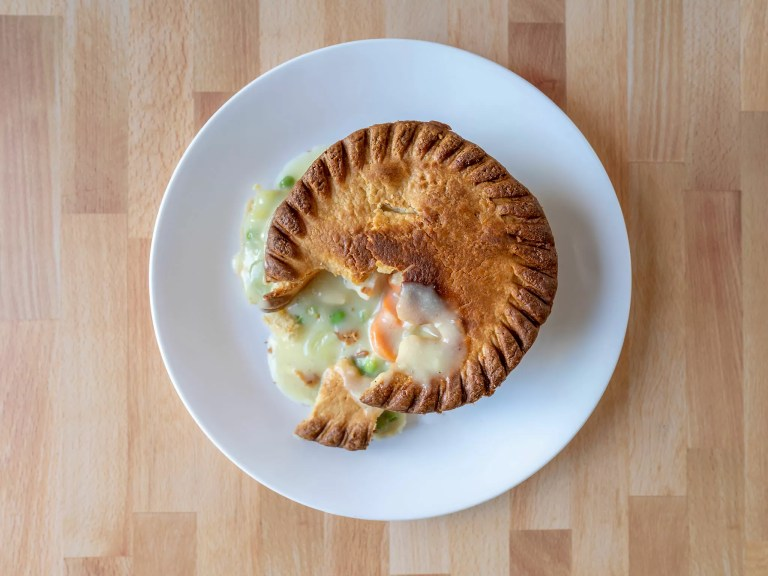 How to cook Marie Callender's Chicken Pot Pie in an air fryer