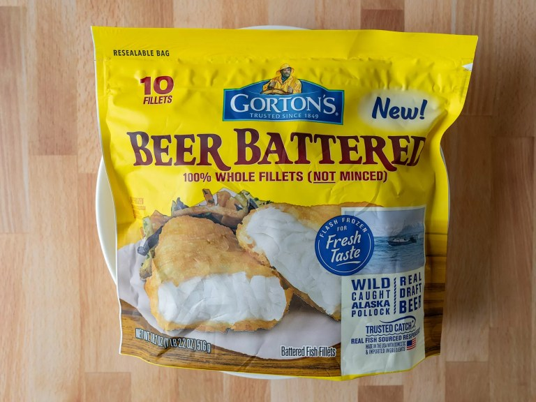 How to cook Gorton's Beer Battered Whole Fillets in an air fryer