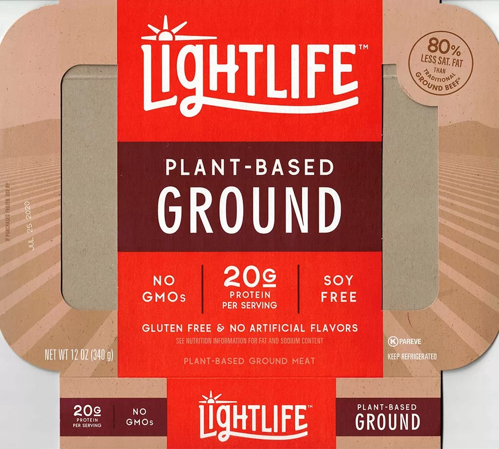 Lightlife Plant Based Ground package front
