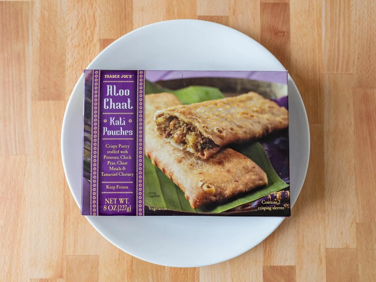 How to cook Trader Joe's Aloo Chaat Kati Pockets in an air fryer