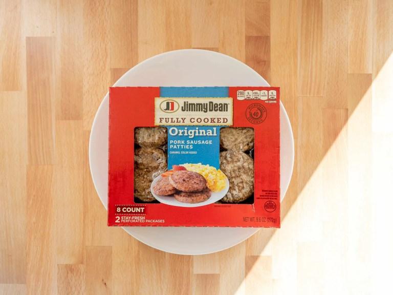 How to air fry Jimmy Dean Original Pork Sausage Patties