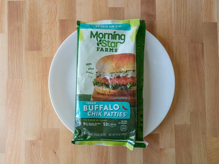 How to cook MorningStar Farms Buffalo Chik Patties in an air fryer