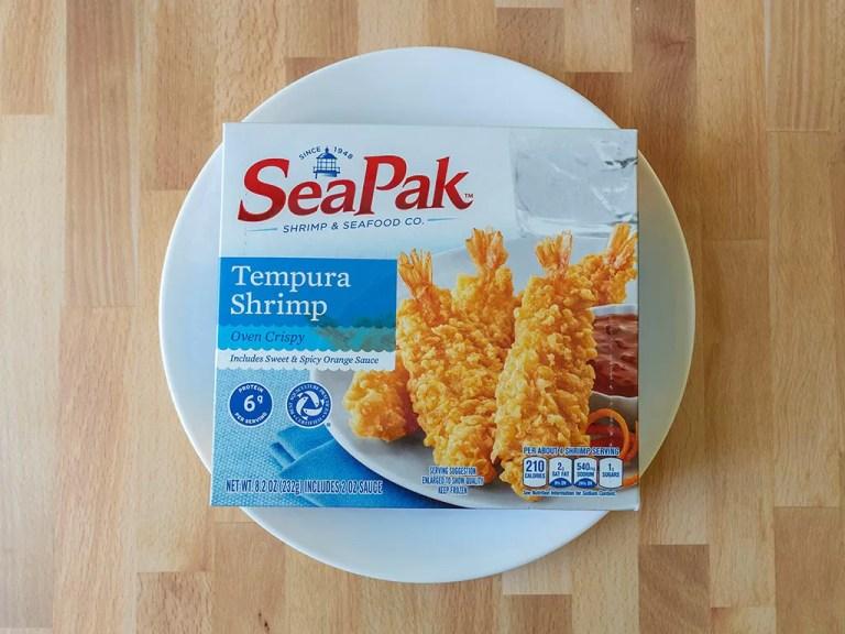 How to cook SeaPak Tempura Shrimp in an air fryer