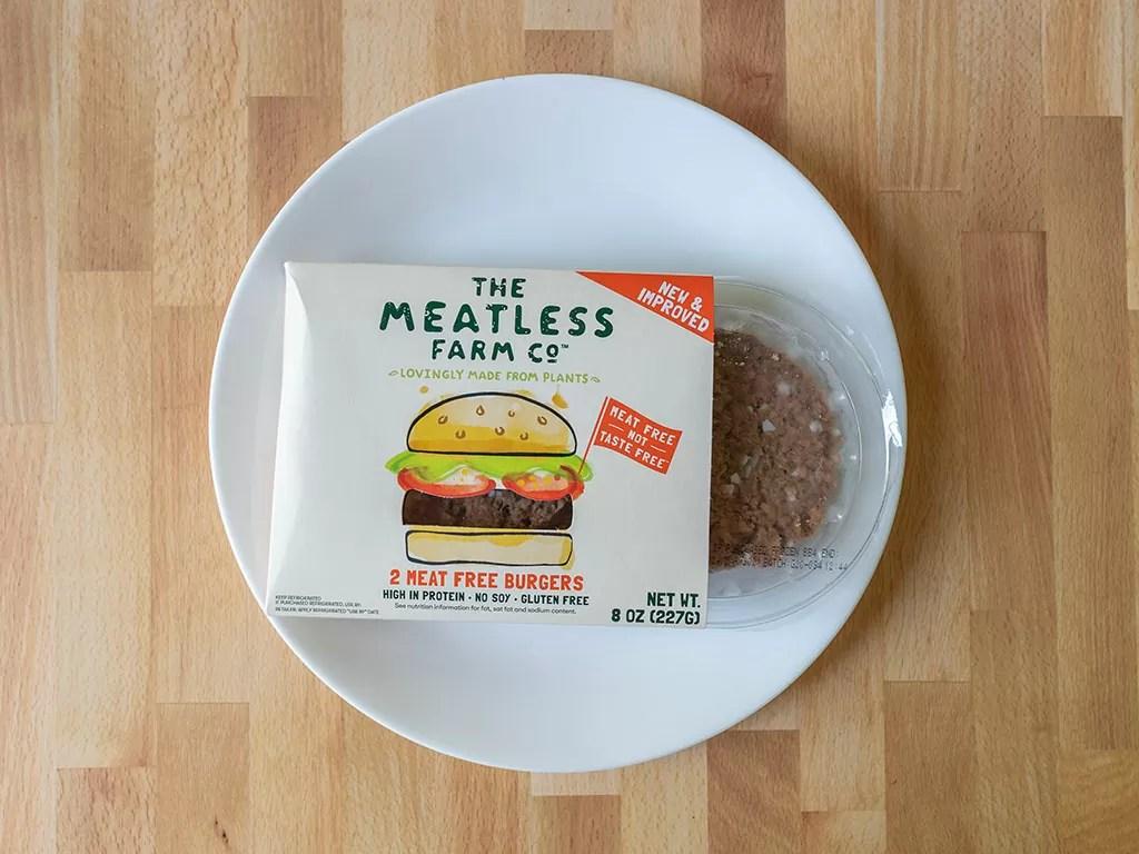 The Meatless Farm Co Burgers