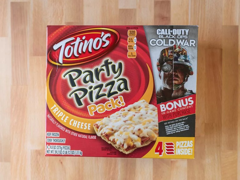 How to cook Totino's Triple Cheese Pizza using an air fryer