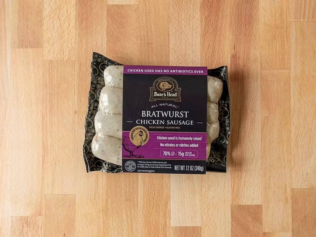 Boar's Head Bratwurst Chicken Sausage