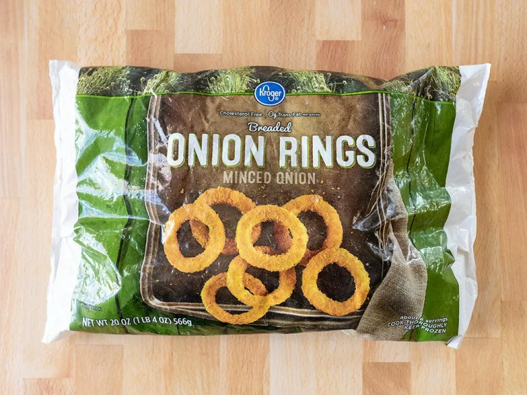 How to cook Kroger Onion Rings in the air fryer