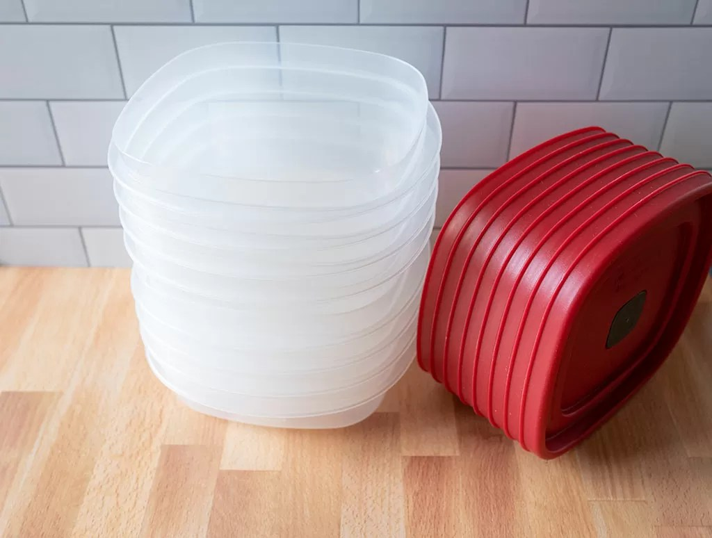 Rubbermaid meal prep containers
