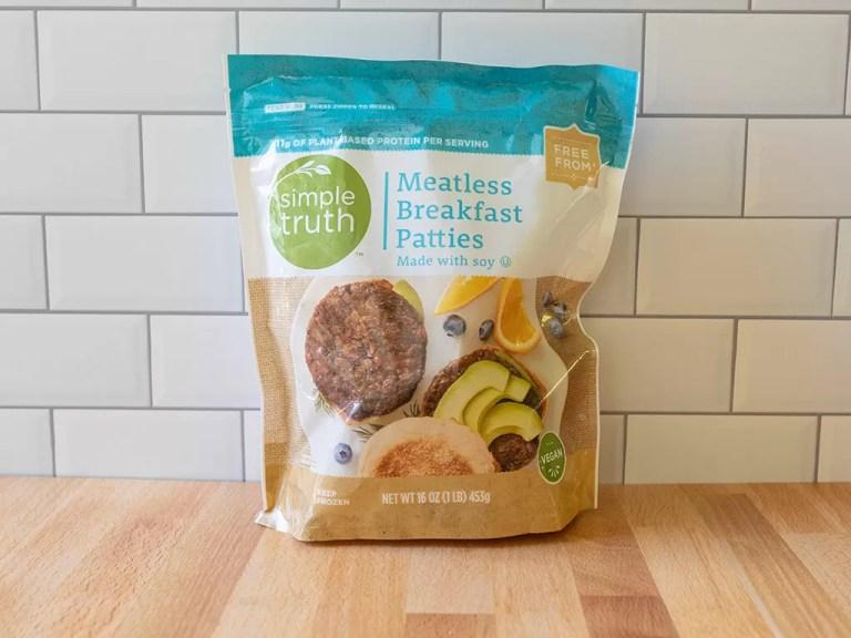 How to cook Simple Truth Meatless Breakfast Patties in the air fryer