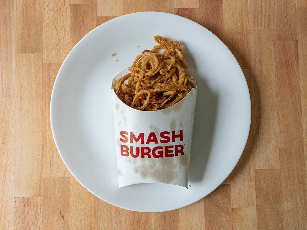 Smashburger Haystack Onions