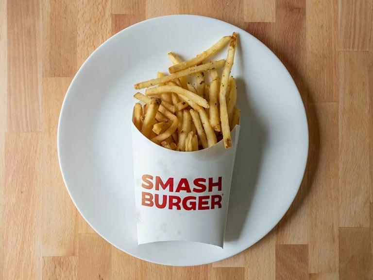 How to reheat Smashburger Smashfries using an air fryer